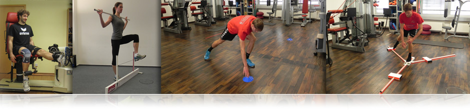 The RTC uses various test tasks to check the neuromuscular performance