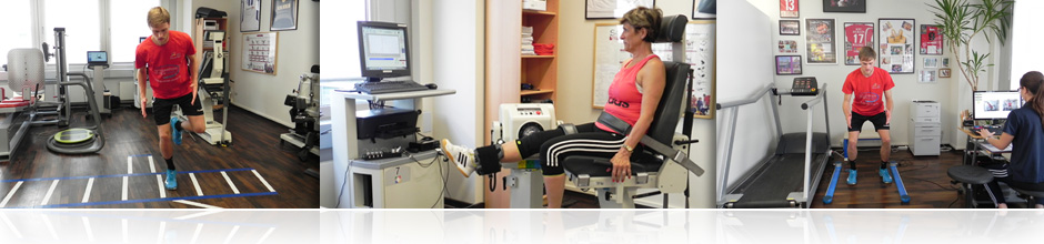 In the functional test of sports capability, various sport-motor test methods are carried out