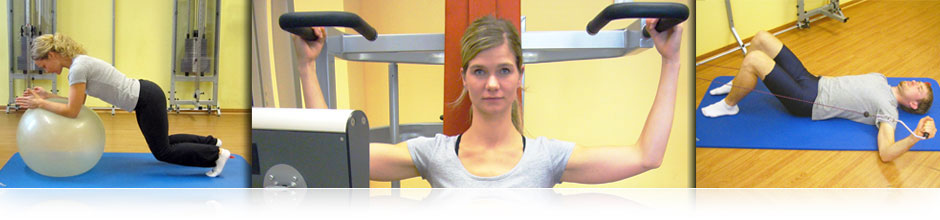 Training bei Schulter-, Ellenbogen- oder Handverletzungen