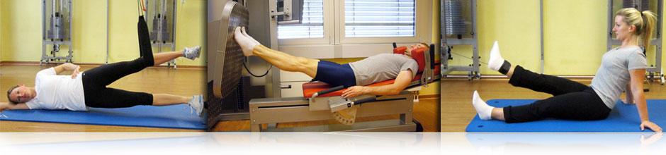 Training bei Verletzungen an Hüfte, Knie und Sprunggelenk